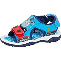 Boys Thomas The Tank Engine Sports Sandals Infants Easy Fasten Flat Summer Shoes