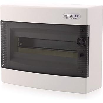 Aufputz Verteilerkasten Kleinverteiler IP30 1 reihig für max.6 Automaten