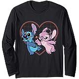 Disney Lilo and Stitch Angel Heart Kisses Manche Longue