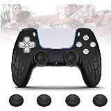 Frusde PS5 Controller Cover, PS5 DualSense Controller Protettiva Silicone Cover con 4 Copri Levetta, Playstation 5 Antiscivol
