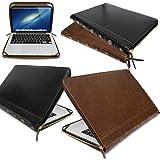 "Custodia per computer portatile, classica, in pelle, per Apple MacBooks marrone BROWN LEATHER Apple MacBook Air 13"" (13.3 inc"