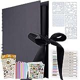 Album Photo, Album Photo à concevoir Soi-même,LivrePhoto DIY 80 pages,Format 28,5x21cm, Peut être Utilisé Comme Cadeau de Fin