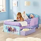 Bebegavroche Disney Kinderbett ELSA und Anna Die Eiskönigin mit Aufbewahrungsschublade + Matratze