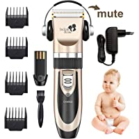 Haarschneidemaschine, Jack & Rose HaarschneiderElektrische Haarschneider Maschine Wiederaufladbare Profi Kabellose Haarscherer Haartrimmer Set mit 4 Kammaufsätze für Kinder und Herren
