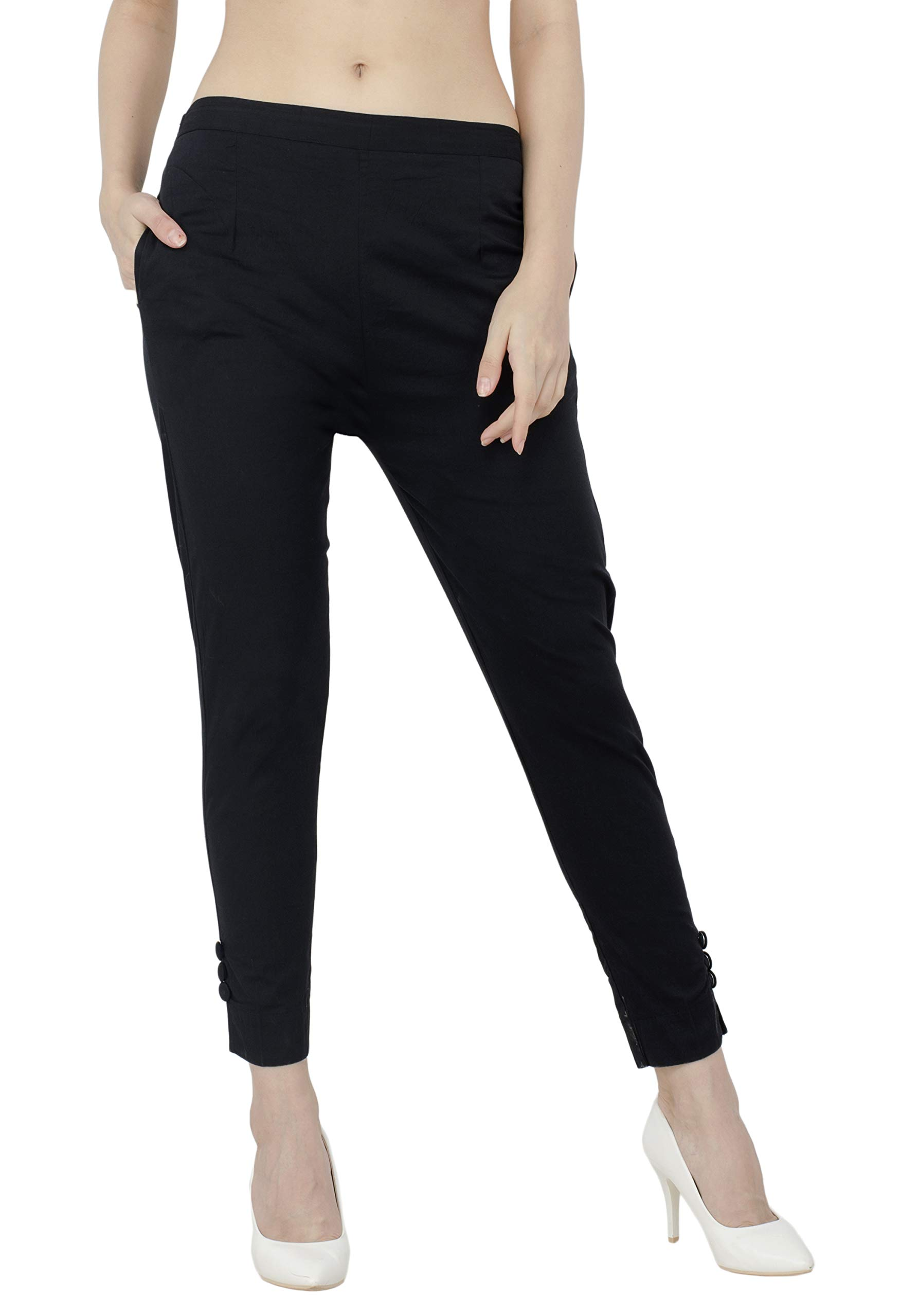 AAKRITHI Women's Slim Fit Trousers