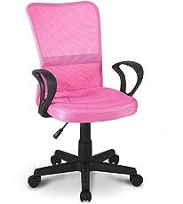 Merax® Drehstuhl Kinder-Drehstuhl Schreibtischstuhl Bezugsstoff