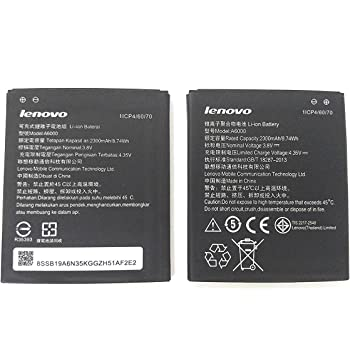Battery For Lenovo A6000 A6000 Plus A6010 2300mah Amazon In