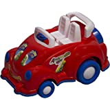 Toys Treasure Friction Powered Toy Car with Zoo Sound for Kids(Red)