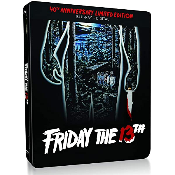 Friday the 13th 40th Anniversary Limited Edition USA Blu-ray ...
