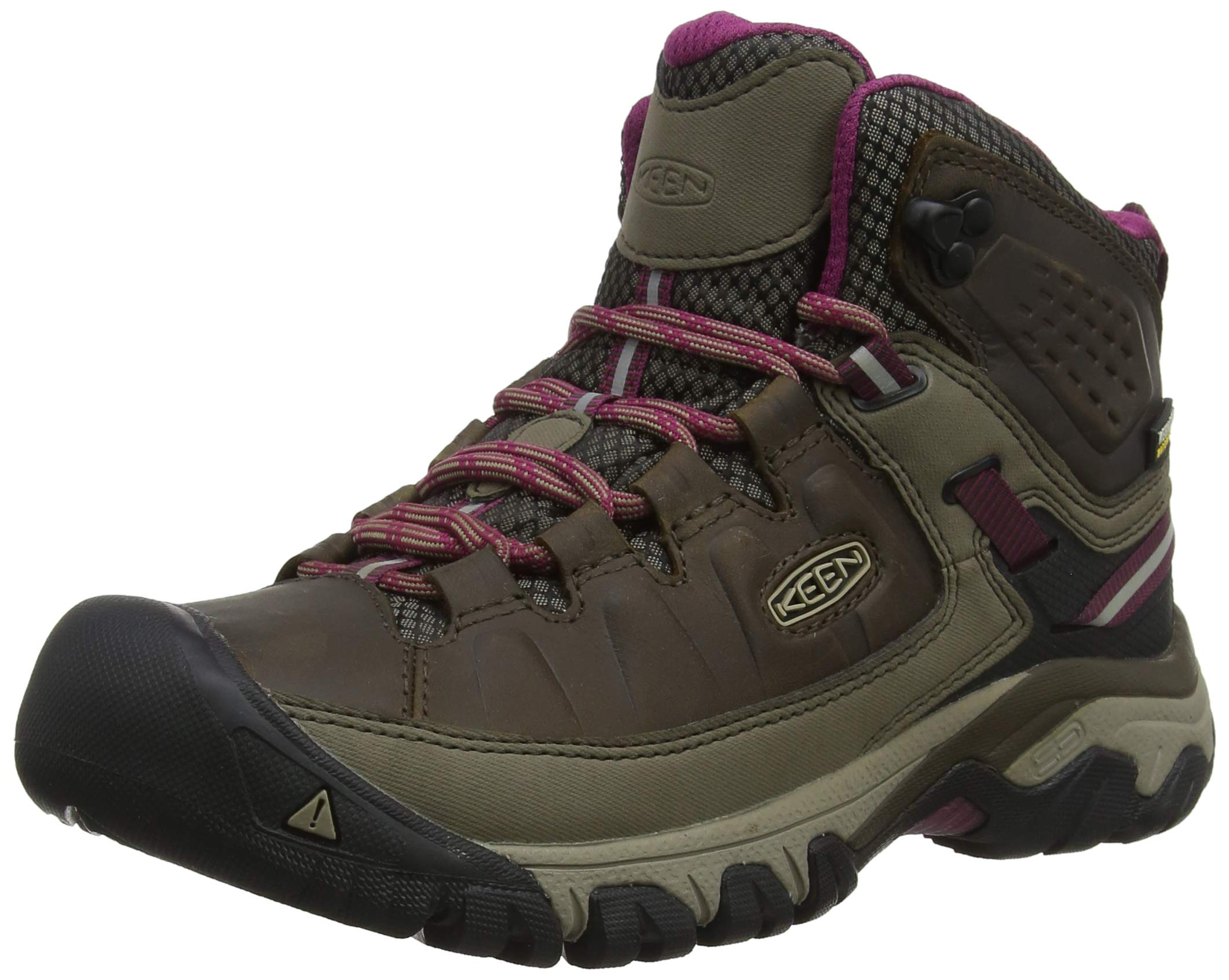 ff11213e8df KEEN Women's Targhee Iii Mid Wp High Rise Hiking Shoes