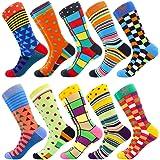 Funny Men's Sock Crazy Sock for Men Creative Colorful Socks Crazy Novelty Funky Cool