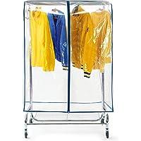 Tatkraft Screen, Housse de Protection pour Portant à Vêtements 150x96x60 cm, Plastique Waterproof Transparent, Ouverture…