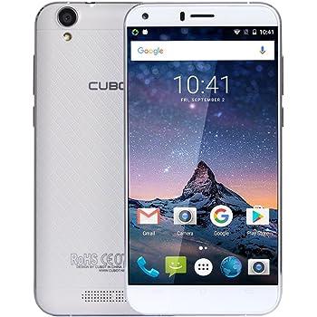 CUBOT Manito 4G Smartphone 5.0'' HD Pantalla, Android 6.0, MTK6737 1.3GHz, Quad-Core 3GB RAM 16GB ROM, 13.0MP+5.0MP Dual Cámara, Dual SIM Card OTG