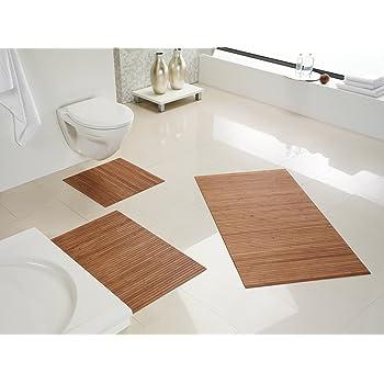 duschvorleger holz 80x50 akazien badvorleger vorleger holzmatte duschmatte k che. Black Bedroom Furniture Sets. Home Design Ideas