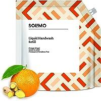 Amazon Brand - Solimo Handwash Liquid Refill, Orange Ginger - 1500 ml