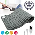 """Heating Pad,Electric Heating Pad 12""""x24"""" Large Heating Pads for Back Pain Auto Shut Off Heat Pad Moist Heating Pad with..."""