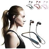 107 Cuffie Bluetooth Bluetooth In-Ear Cuffie Sport Cuffie senza fili Auricolari con microfono Riduzione intelligente