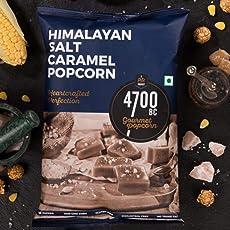 4700BC Himalayan Salt Caramel Popcorn Pouch, 125g (Pack of 2)