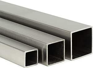 Edelstahl Vierkant VA V2A blank h11-8x8mm L: 1200mm auf Zuschnitt 120cm