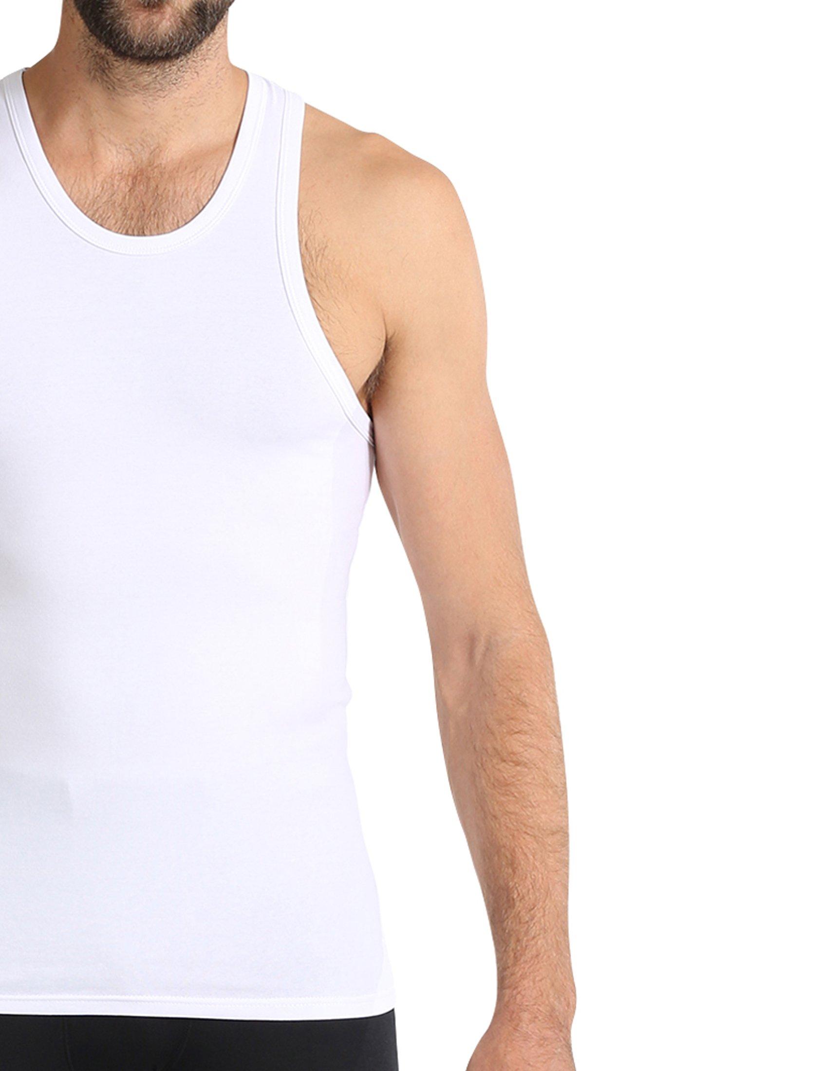 size 40 044af f4997 Ultrasport Herren Unterhemd / Achselshirt mit breiten Trägern für hohen  Tragekomfort