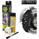 E-Tech EBCP-BK Brake Caliper Paint-MATT Black