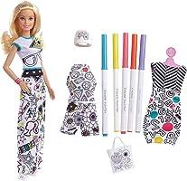 Barbie - (Mattel Fph90) Kıyafet Tasarla Oyun Seti