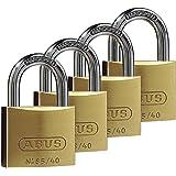 ABUS Hangslot Quad Pack 65/40 40 mm, messing, 35127