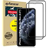 """Holahoney Glass Screen Protector Designed for iPhone 11 Pro Max/iPhone Xs Max (6.5"""") [Edge to Edge Coverage] Full Protection"""