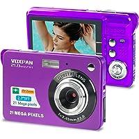 VOXPAN Digitalkamera für Anfänger, 8X Digital Zoom HD Digitalkamera Fotoapparat 21 MP 1080P HD 2,7 Zoll Foto Kompaktkamera Mini…