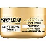 DESSANGE - Nutri-Extrême Richesse Masque Concentré de Nutrition Pour Cheveux Rêches, Très Desséchés ou Ternes - 250 ml