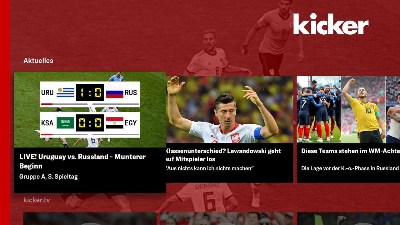 Kicker Fussball News Liveticker Slideshows Videos