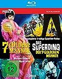 7 goldene Männer + Das Superding der 7 goldenen Männer / Die komplette mit dem Prädikat WERTVOLL ausgezeichnete 2-teilige Spielfilmreihe in brillianter HD-Qualität [Blu-ray]