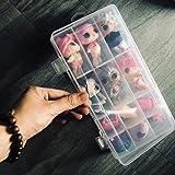 Skryo👍👍 18 Fächer Spielzeugkoffer Zubehör für LOL-Überraschungspuppen
