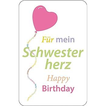 Susy Card Glückwunschkarte Family And Friends Schwest 1 Stück In