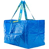 Ikea FRAKTA Tragetaschen in blau; (71l); 10 Stück