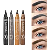 ONLYOILY Eyebrow Pen Set-Tattoo Sense Liquid Eyebrow With 4 Colours, All day Waterproof