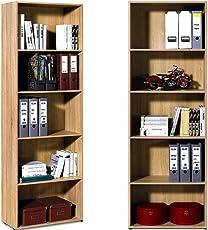 Standregal Bücherregal - Wandregal Aufbewahrungsregal Regal
