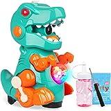 Yojoloin Máquina de Burbujas para Niños 3 4 5 6 7 8 Años,Juguete Bebé Burbujas de Jabon,Automático Pompas de Jabón con Luz, M