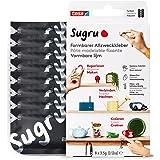 Sugru by tesa® - Vervormbare Universele Lijm, 8-pack, 8 x 3,5 g, Zwart - Veelzijdige Kneedgum - Voor Repareren, Lijmen en Bev