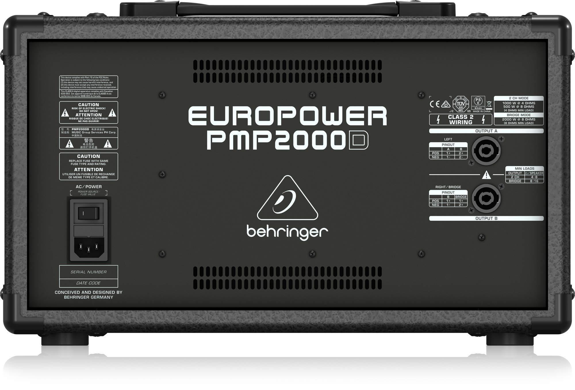 Behringer Europower PMP2000D mixer