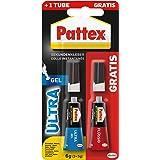 Pattex Secondelijm Ultra Gel, extra sterke en flexibele superlijm, stoot- en waterbestendig, voor bijvoorbeeld rubber, leer,