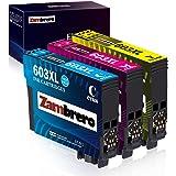 Zambrero 603XL Colore Cartucce Sostituzione per Epson 603 XL 603XL Cartucce per Epson Expression Home XP-2100 XP-2105 XP-3100