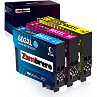 Zambrero 603XL Colore Cartucce Sostituzione per Epson 603 XL 603XL Cartucce per Epson Expression Home XP-2100 XP-2105 XP…