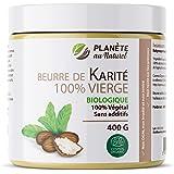 Beurre de Karité 400 g - Biologique - 100% vierge - 100% végétal - sans additifs - Non raffiné