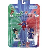PJ Masks Stampers Blister 3 (S1) - Romeo, Owl Glider, Catboy for Kids 3+ Years & Above