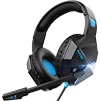 Xbox Headset PS4 254g Lightweight - Mpow EG10 Gaming Headset with Clear & Positional Audio, Wired Gaming Headphones with Noise Cancellation Mic- Compatible with PS4/Xbox one/PC