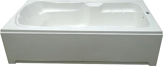 MADONNA Elegant Freestanding Acrylic Bath Tub - White