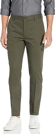 Amazon Brand - Goodthreads Men's Slim-fit Wrinkle-free Dress Chino trouser trousers