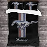 Linon Bed Linen Ford Mustang Legend Bedding 135x200 cm Pony US Car Auto 008