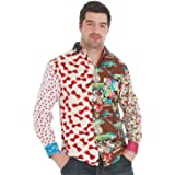 Foul Fashion Mens Ugly Shirt - Every Shirt is different! - Size Medium 15.5 inch collar